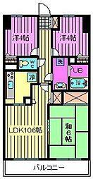 マ・メゾン寿[7階]の間取り