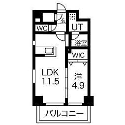 プレスタイル博多駅南[5階]の間取り