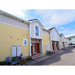 静岡県焼津市塩津の賃貸アパートの外観