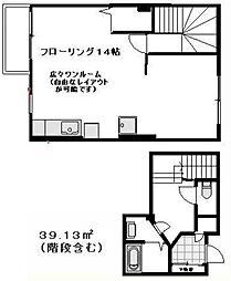 [テラスハウス] 東京都新宿区四谷4丁目 の賃貸【/】の間取り