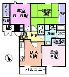 シティコートSUMISHO2[3階]の間取り