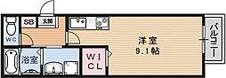 恵盛マンション[102号室号室]の間取り