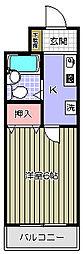 カントーパレスII[1階]の間取り
