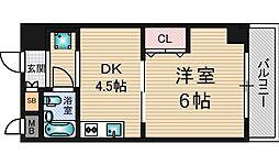 クリテリオン新大阪[2階]の間取り