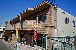 兵庫県川西市湯山台2丁目の賃貸アパートの外観