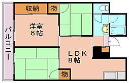 柳河内ビル[1階]の間取り