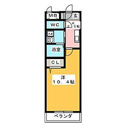マ メゾン アイ[2階]の間取り