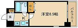 エスリード京都河原町第2[803号室]の間取り