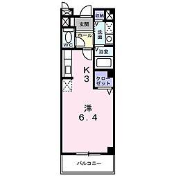 レフィナードK I[2階]の間取り