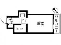 TOP・早稲田[302号室号室]の間取り