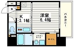 OAK弥栄・夕陽ヶ丘[2階]の間取り