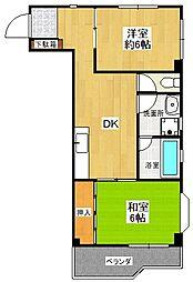 JS-2ビル[3階]の間取り