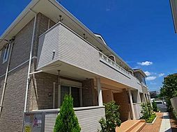 千葉県松戸市常盤平6丁目の賃貸アパートの外観