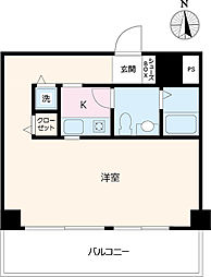 R3kawagoe[5F-D号室]の間取り