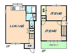 [一戸建] 兵庫県神戸市垂水区福田5丁目 の賃貸【/】の間取り