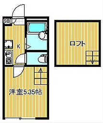 コートレジデンス武蔵中原[1階]の間取り