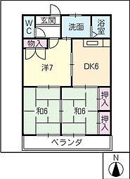 フラワーランゲージ[3階]の間取り