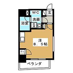 アーバン錦[6階]の間取り