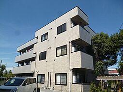 東京都青梅市東青梅4丁目の賃貸アパートの外観
