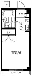 シェ・モワ荻窪 B館[102号室]の間取り