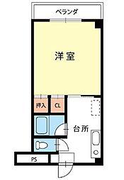 エトワール浅間[2階]の間取り