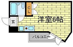 ファーストアベニュー[2階]の間取り