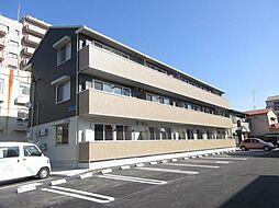 静岡県浜松市中区元魚町の賃貸アパートの外観