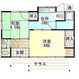 [一戸建] 神奈川県小田原市久野 の賃貸【/】の間取り
