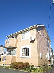 千葉県佐倉市西志津8丁目の賃貸アパートの外観