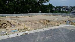2号棟現地写真です。10月下旬~11月上旬完成予定です。