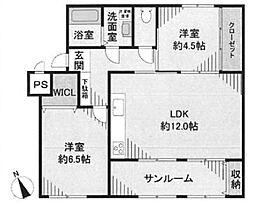相武台団地1515号棟1階 小田急相模原駅17分  1515