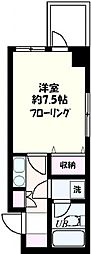 ソフィアヨコハマ[804号室号室]の間取り
