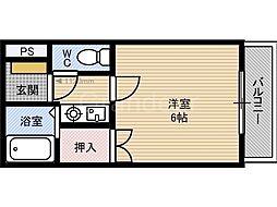 カネマツ鶴見緑地[2階]の間取り