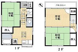 [一戸建] 東京都江戸川区一之江2丁目 の賃貸【/】の間取り