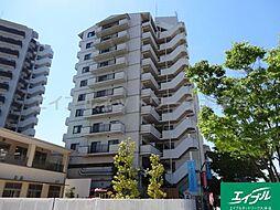 滋賀県大津市打出浜の賃貸マンションの外観