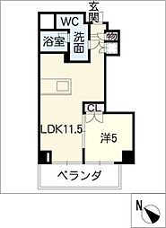SK'BUILDING−7[3階]の間取り