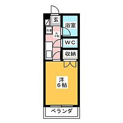 博文館A[1階]の間取り