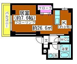 アルファコート戸田公園1[201号室]の間取り