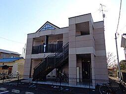 フラワーハイツ龍ヶ崎[201号室]の外観
