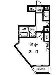 アソルティ西院[211号室号室]の間取り