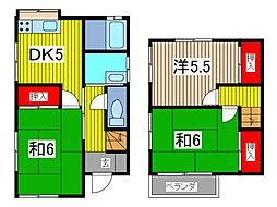 [一戸建] 埼玉県川口市大字安行領根岸 の賃貸【/】の間取り