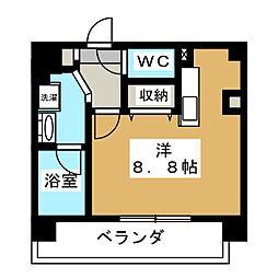 ALTA京都堀川ウインドア[5階]の間取り
