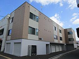 北海道札幌市東区北二十一条東8丁目の賃貸アパートの外観