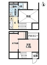Tross港栄[2階]の間取り