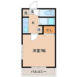 メゾン・ドゴール[2階]の間取り
