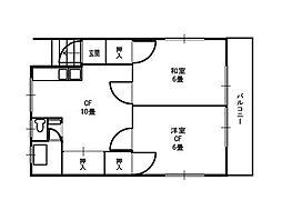 熊野町戸建ハッピーハウス[201号室]の間取り