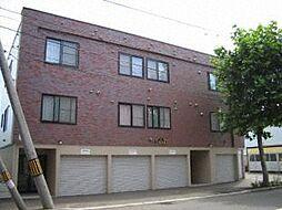 北海道札幌市北区北三十三条西2丁目の賃貸アパートの外観