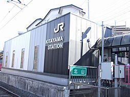 北山駅まで徒歩...