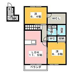 高畑駅 7.2万円