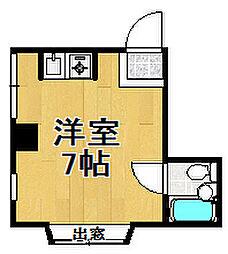 ビスタ大正[4階]の間取り